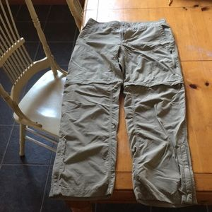 The north face pants/shorts.